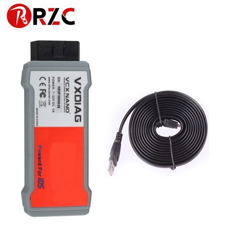 VXDIAG VCX NANO for Ford Mazda 2 in 1 USB Wifi IDS V112 VXDIAG VCX NANO