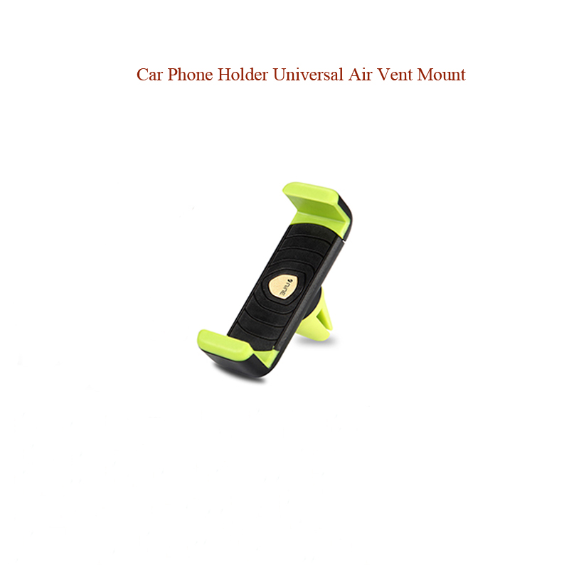 Universal Smartphone Car Air Vent Mount Holder Cradle Compatible for iPhone Samsung Smartphone Green Car Mobile Phone Holder in Universal Car Bracket from Automobiles Motorcycles
