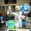 TBJF-CQ40 máquina semiautomática etiquetado con un neumático grande botella de detergente líquido cara embalaje etiquetado