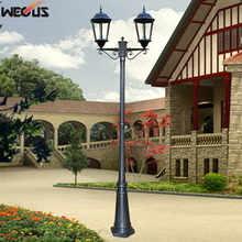 H±2. 8 м) Европейский уличный светильник, парк, живописная зона, ландшафтный светильник ing светильник, инженерная лампа, алюминиевый садовый фонарь
