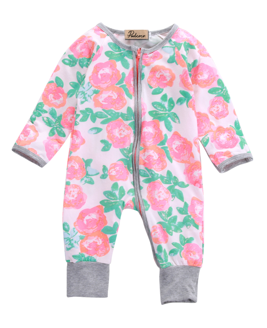 2016 Hot Sale Newborn Kids Baby Boy Girl Infant Flower