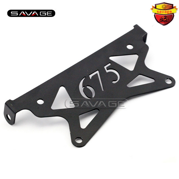 For TRIUMPH Daytona 675 2006-2012 Motorcycle Tail Tidy Fender Eliminator Registration License Plate Holder Bracket for suzuki gsxr1000 2007 2008 motorcycle licence plate bracket tail tidy rear fender eliminator billet aluminum