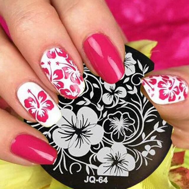 Aliexpress.com : Buy 1 PC Fashion JQ Series Nail Art Stamp Stamping ...
