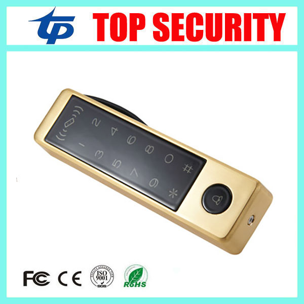5pcs a lot single door access control system standalone ID card proximity EM card access control reader with touch keypad proximity rfid 125khz em id card access control keypad standalone access controler 2pcs mother card 10pcs id tags min 5pcs