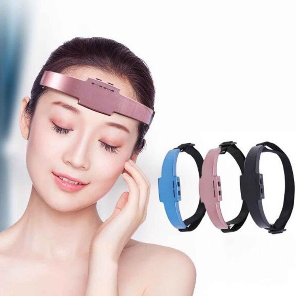 Wireless Electric Hypnosis Head Sleep Instrument Acupuncture Sleeping Aid Insomnia Aid Massage Relax Relieve Headache USB Charge in Massage Relaxation from Beauty Health