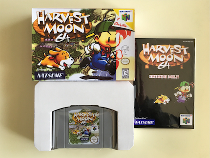 64 Bit Games ** Harvest Moon 64 ( PAL English Version!! box+manual+cartridge!! ) 64 bit games conker s bad fur day english pal version chip save file no need battery