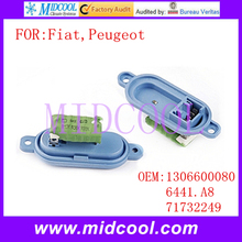 New Heater Blower Motor Resistor use OE NO. 1306600080 6441.A8 6441A8 71732249 for Fiat Ducato Peugeot Boxer