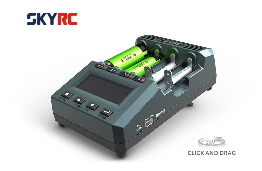 Newes version original SkyRC MC3000 charger balance charger with bluetooth charging by phone for mutilcopter fpv