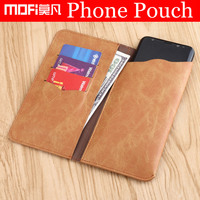 Universal Phone Pouch Vintage Pu Leather Wallet Phone Bag For Iphone 7 6s Samsung S8 Plus