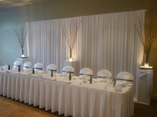 3m x 6m white Silk Wedding Backdrop wedding backdrop drapes curtain wedding decoration