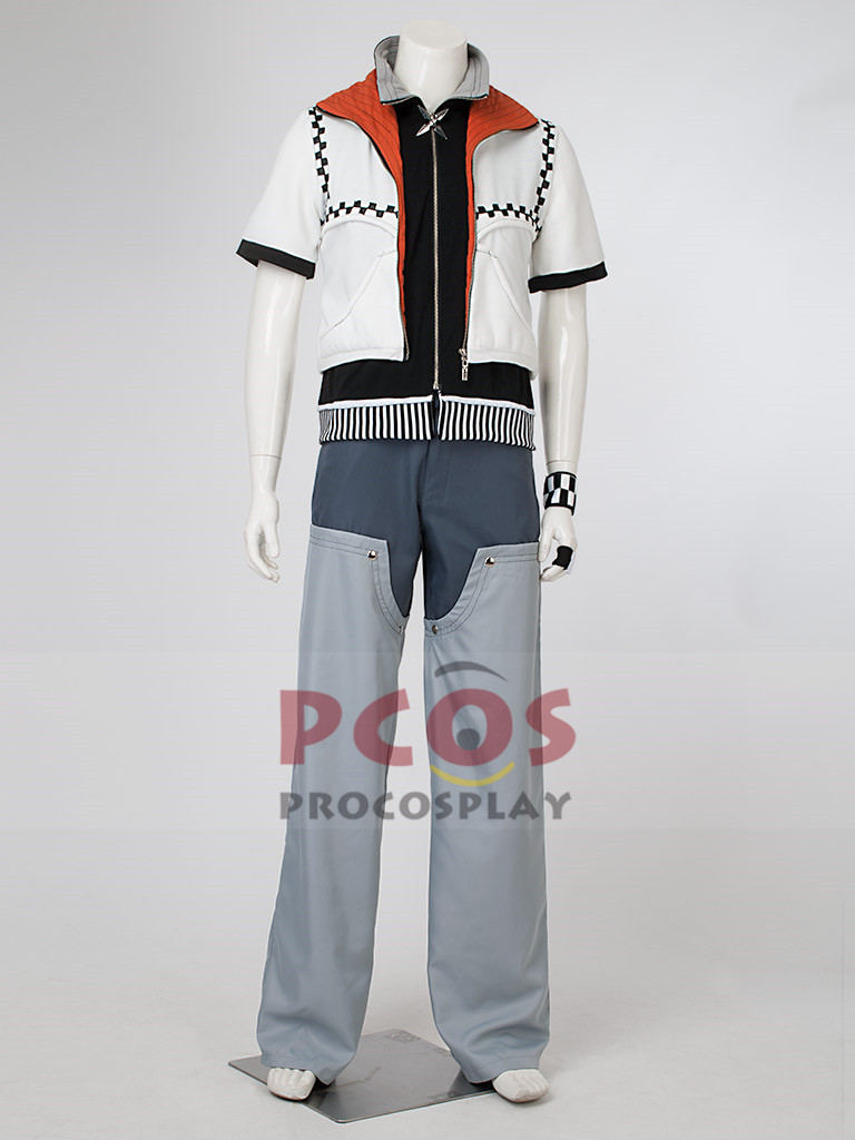 Kingdom Hearts Roxas Cosplay Costume mp001169