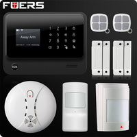 G90B Plus 2 4G WiFi GSM GPRS SMS Wireless Wired Home Security Alarm System IOS Android