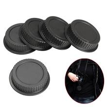 5 Pcs Rear Lens Cap Dust Cover for Canon EF ES-S EOS Series Lens HJ55