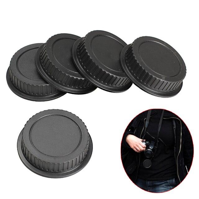 5 Pcs Rear Lens Cap Dust Cover for EF ES S Series Camera Lens Holder Cap Cover Camera Len Cover Protector  Lens Accessories