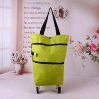 New Portable Telescopic Shopping Storage Bag Cart Handbag Shopping Bag Folding Tug Bag Trolley Smart Cart