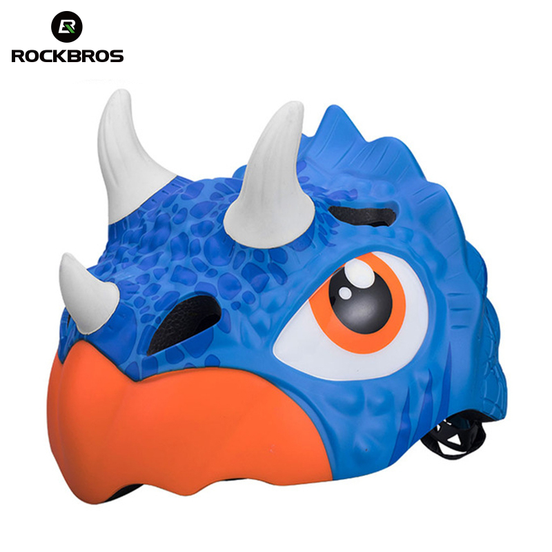 ROCKBROS Cycling Cartoon Sports Child Helmets Safety Helmet Shark Fish Helmets