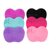 Silicone brush cleaner Cosmetic Make Up Washing Brush Gel Cleaning Mat Foundation