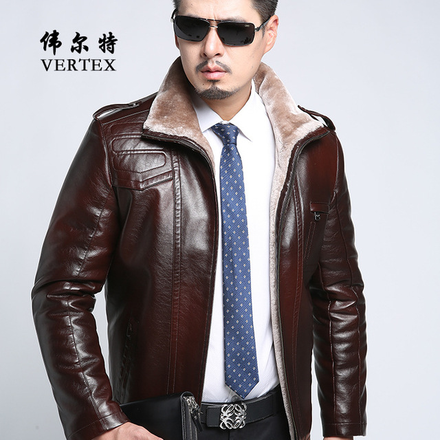 2017 New Arrival Top Quality Winter Single Breasted Hooded Leather Jacket Men Trench Coat Mens Leather Jackets And Coats FC2303