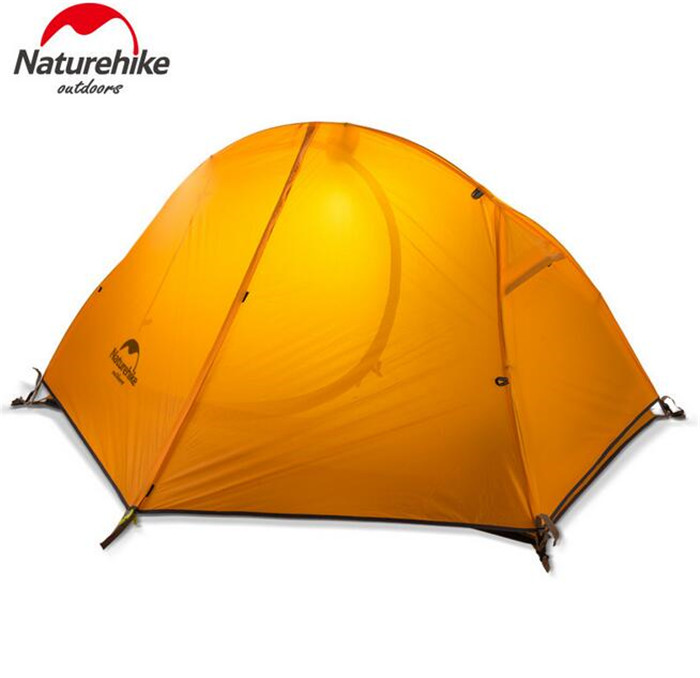 Naturehike Outdoor Travel Camping Tent Ultralight 1-2 Person Four Season Tent Double Layer Waterproof Shelter Camping Equipment mobi outdoor camping equipment hiking waterproof tents high quality wigwam double layer big camping tent