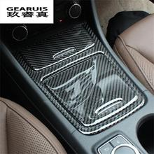 Car styling Middle control decoration article storage box sequins accessories carbon fiber for Mercedes Benz GLA
