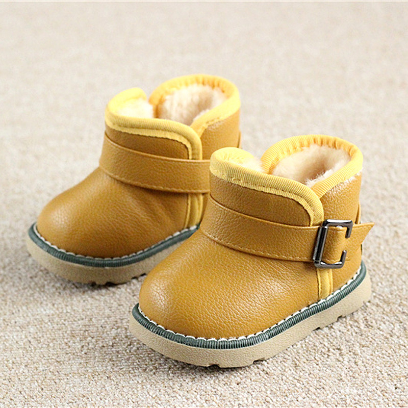 Winter-Warm-Boots-childkidgirlboy-Warm-Bootst-antislip-sole-short-boots-waterproof-leather-cotton-padded-shoes-2