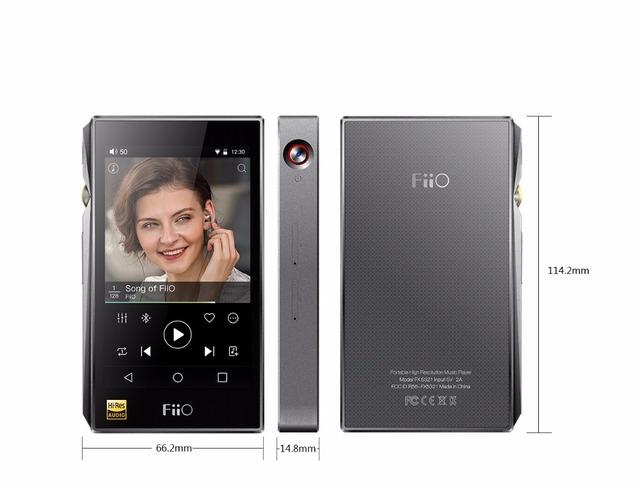 Fiio x5iii tercero reproducción sin pérdida de dominio de la calidad basado en android reproductor de música portátil de audio de alta resolución 324bit/384 dsd128 a4490 * 2