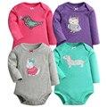 Romper do bebê mangas compridas clothing bodie corpo terno recém-nascidos de manga longa crianças das crianças das meninas dos meninos macacão roupa do bebê infantil