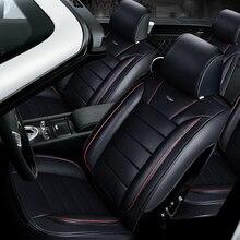 3D Stylizacji Samochodów Seat Cover Dla Renault Koleos Laguna Megane Scenic Fluence Latitud cc Talizman, Wysokiej włókna Skóry, samochód-Covers