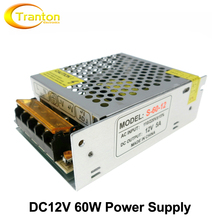 DC12V 5A 60W AC110-220V Lighting Transformers Safy Driver for LED Strip 5050 Power Supply