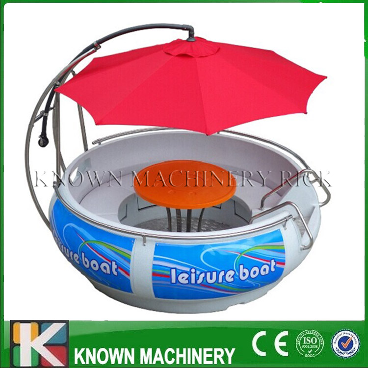 China Wholesale Multifunctinal Fiberglass Electric BBQ Donut Boat Bbq Boat With Free Shipping