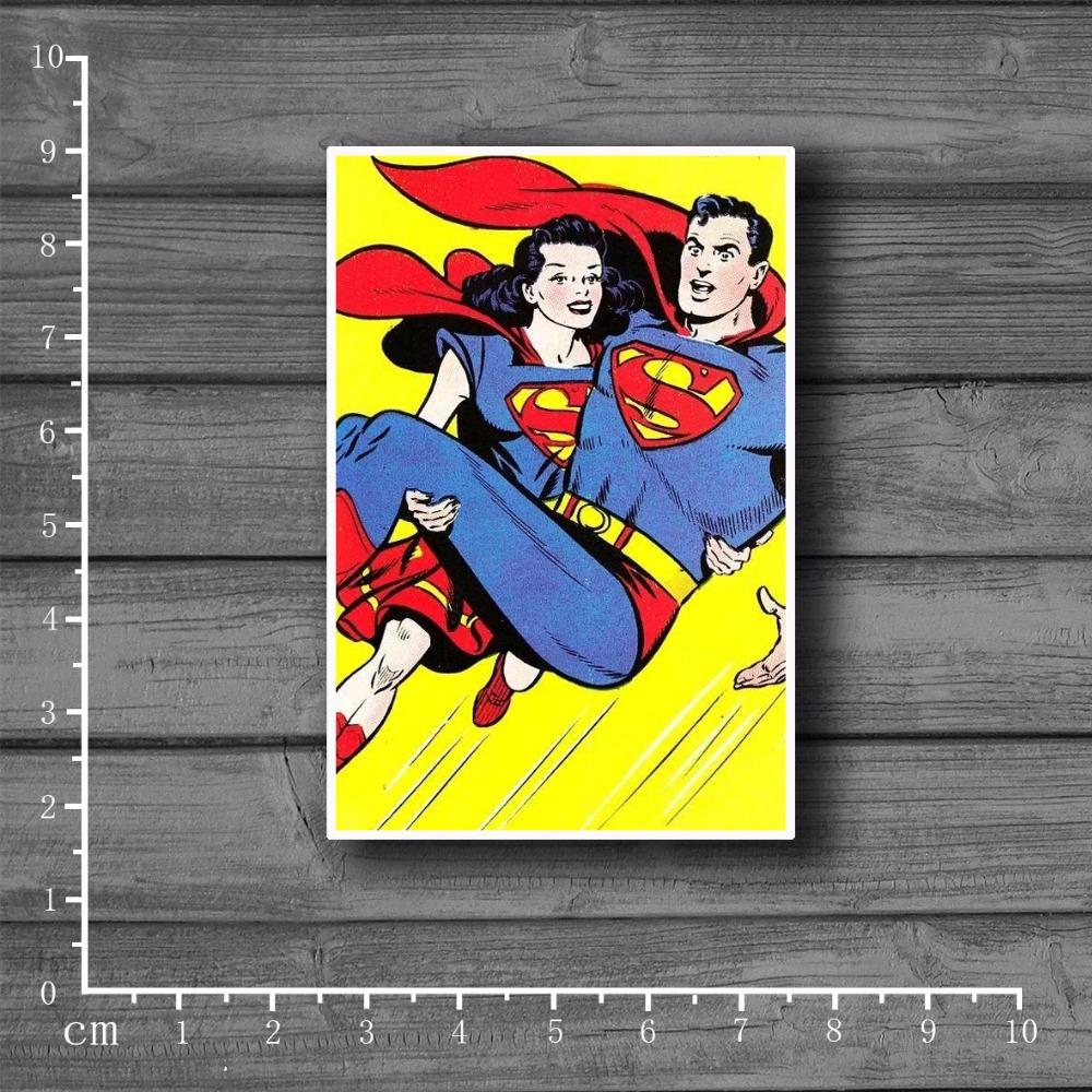 Rescued Superman Notebook on Laptop Scrapbooking Stationery Stickers Decal Fridge Doodle Snowboard Luggage Decor[Single]Rescued Superman Notebook on Laptop Scrapbooking Stationery Stickers Decal Fridge Doodle Snowboard Luggage Decor[Single]