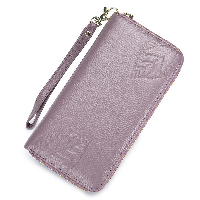 Vintage Cakes Macaroon Piece Wallets For Men Women Long Leather Checkbook Card Holder Purse Zipper Buckle Elegant Clutch Ladies Coin Purse