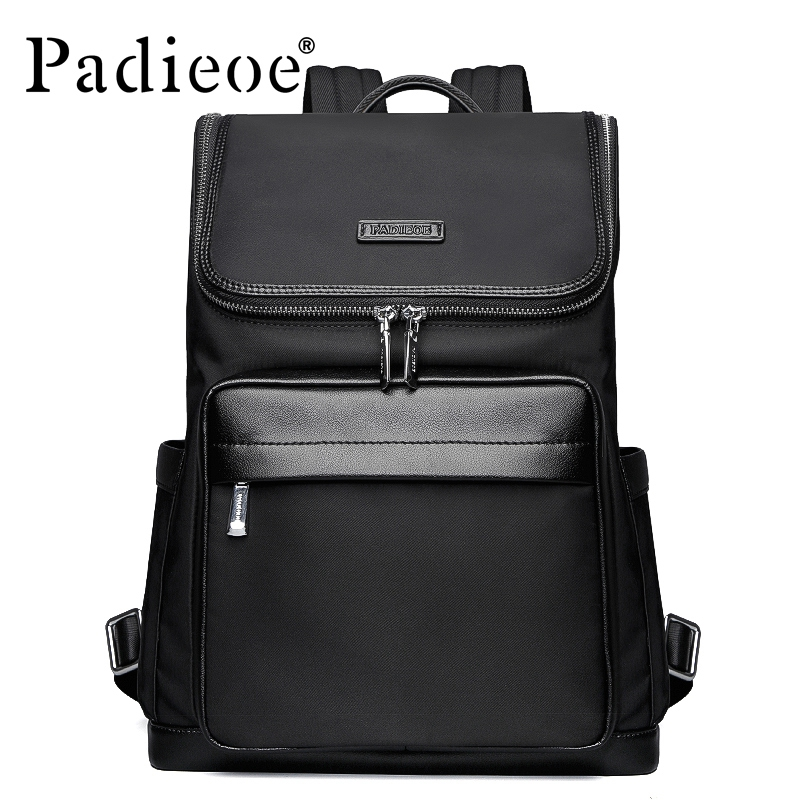 Padieoe High Quality Korean Style Nylon School Backpack Male Fashion School Bags for Teenage Casual Mens Backpacks for MalePadieoe High Quality Korean Style Nylon School Backpack Male Fashion School Bags for Teenage Casual Mens Backpacks for Male