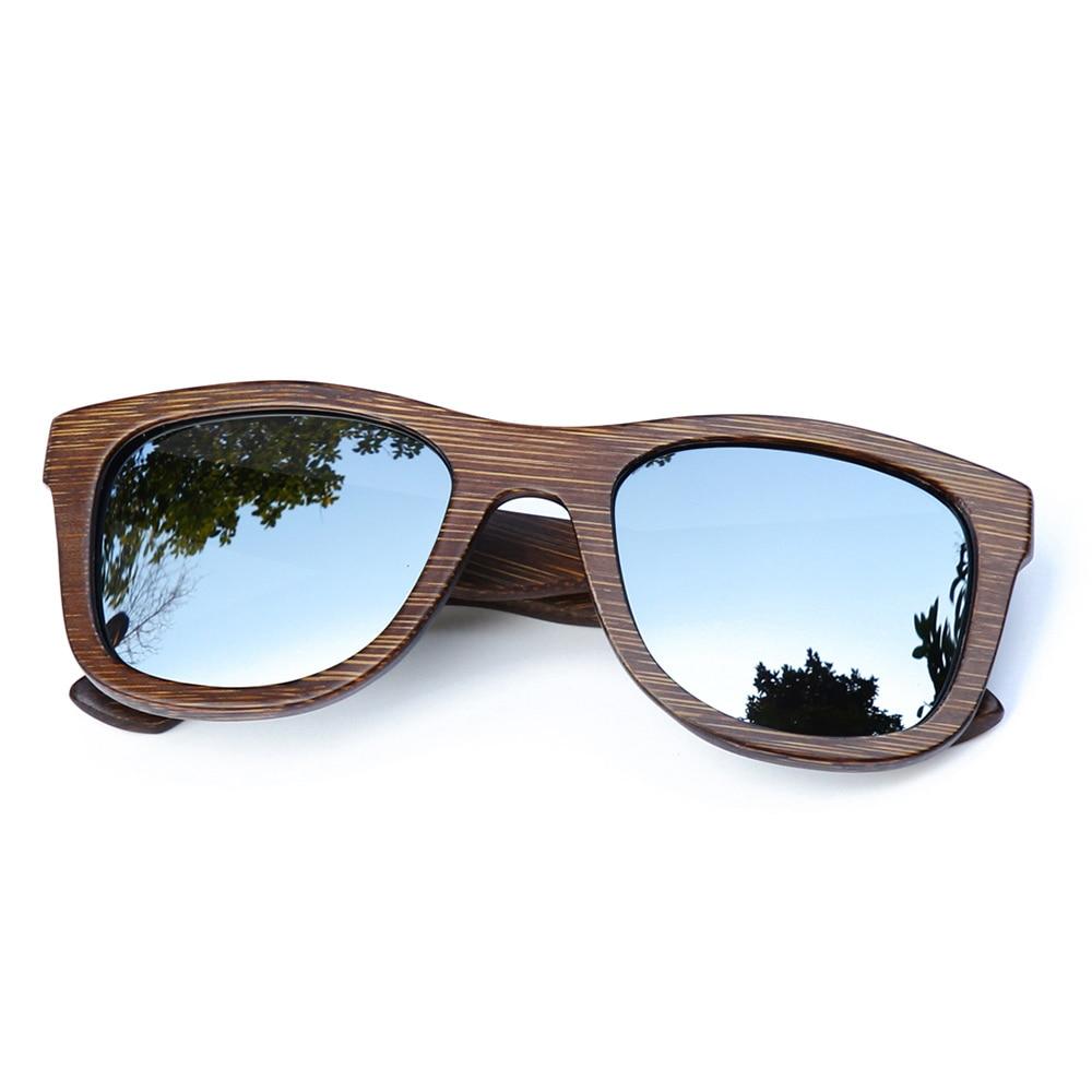 BerWer 2017 fashion polarized sunglasses available Bamboo wooden sunglasses