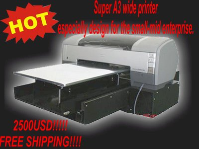 Light Color T Shirt Printing Machine A3 Low Price Stable Quality Mass Ordering