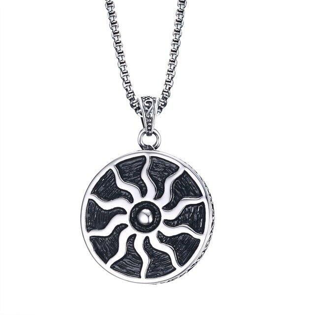 Fashion jewelry sun pattern pendant mens punk style necklace mayan fashion jewelry sun pattern pendant mens punk style necklace mayan totem accessories aloadofball Image collections