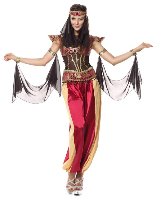 2017 Sexy Adult Dancing Party Costume Halloween Gypsy Indian Costumes Women India Egypt Dancing Dresses Halloween  sc 1 st  AliExpress.com & 2017 Sexy Adult Dancing Party Costume Halloween Gypsy Indian ...