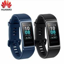 Auf Lager Original Huawei Band 3/Pro Smartband Metall Rahmen Amoled Voll Farbe Display Touchscreen Swim Herz Rate Sensor schlaf