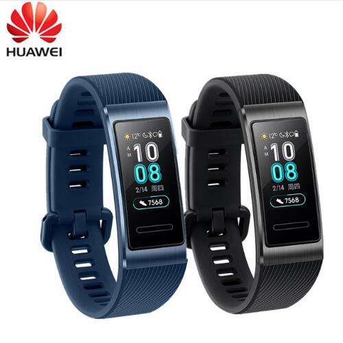 In Stock Original Huawei Band 3 / Pro Smartband Metal Frame Amoled Full Color Display Touchscreen Swim Heart Rate Sensor Sleep image