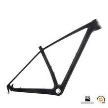 """Sobato Super light only 1050g 142/135 carbon mountain bike frame 29er carbon mtb frames 29"""" Racing bicycle frameset"""