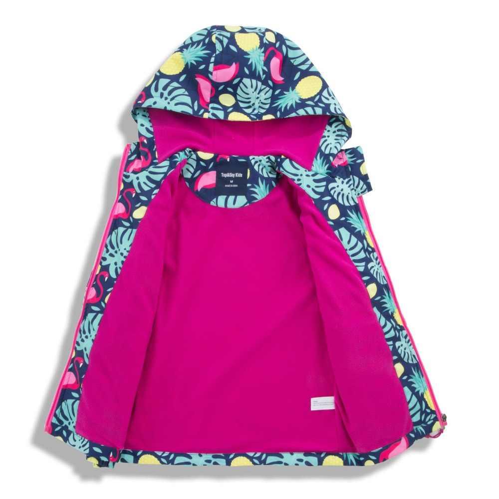 חדש 2019 אביב סתיו ילדי ילדים מעילים להאריך ימים יותר תינוק בנות עמיד למים windproof מעילי פעמיים סיפון קוטב צמר מעילים