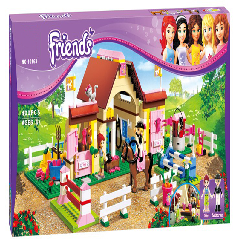 3189 Friends For Girl Mia Farm Stables Building Brick Blocks Sets Children Gift Kids toys Compatible with Lepine Friends 2017 hot sale girls city dream house building brick blocks sets gift toys for children compatible with lepine friends