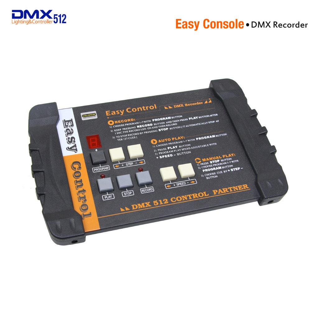 DMX512 Controller Disco Easy Controller DMX Recorder Easy Console For Stage Lighting