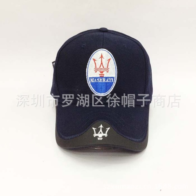 98b6c09dcdc 4 Colours Black Blue Red White Headgear For MASERATI Car cap Profession  Baseball Cap F1 Racing Cup Leisure Hat Logo Hat