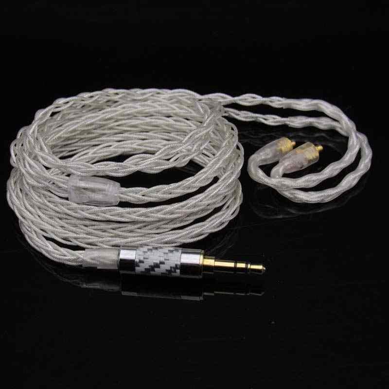 DIY wykonane na zamówienie MMCX słuchawki DD BA dynamiczny wyważone armatura hybrydowy sterowników zestaw słuchawkowy słuchawki kabel do Shure SE215 SE535 SE846