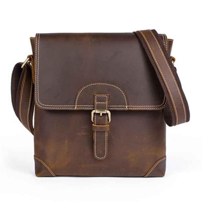 Retro Cowhide Leather Men Shoulder Bag Flap Casual Messenger Bag For Male Luxury Bags Bolsas Vintage Men Crossbody Bags MLT8125 цена 2017