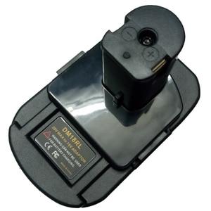 Image 3 - Adaptador de batería DM18RL para Dewalt, Milwaukee, 20V/18V, batería de ion de litio para Ryobi 18V P108 ABP1801