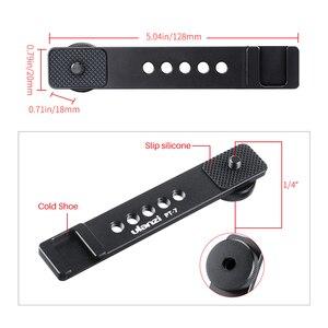 Image 4 - Ulanzi PT 7 Vlog support de barre de montage dextension avec chaussure froide 1/4 vis pour LED vidéo lumière Microphone Gopro Vlog montage