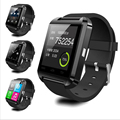 Bluetooth smartwatch u8 u80 bluetooth 4.0 wireless podómetro inteligente reloj pulsera de la muñeca para andriod iphone xiaomi mi banda pk