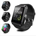U80 u8 smartwatch bluetooth relógio inteligente relógio de pulso pulseira bluetooth 4.0 sem fio para andriod iphones pedômetro pk xiaomi mi banda
